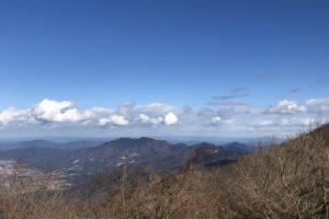 筑波山頂からのながめ