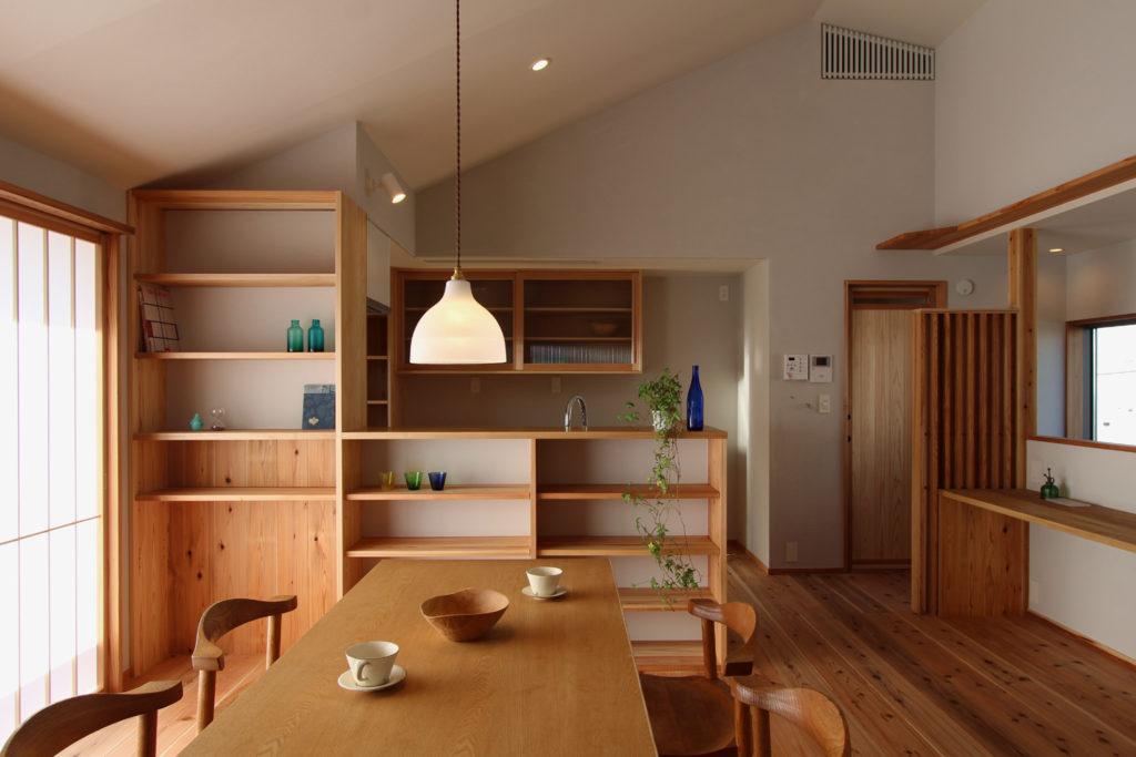 いろは設計室が設計した三郷の家の居間